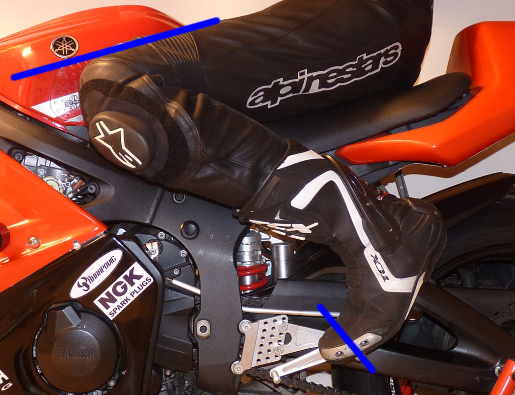 Rearset Position